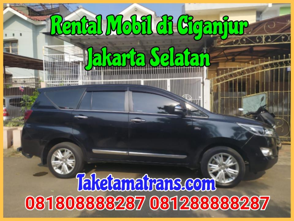 Rental Mobil di Ciganjur Jakarta Selatan