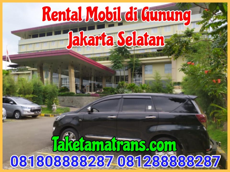 Rental Mobil di Gunung Jakarta Selatan