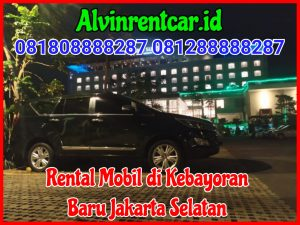 Rental Mobil di Kebayoran Baru Jakarta Selatan