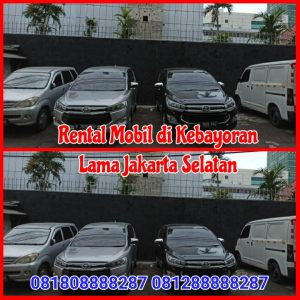 Rental Mobil di Kebayoran Lama Jakarta Selatan