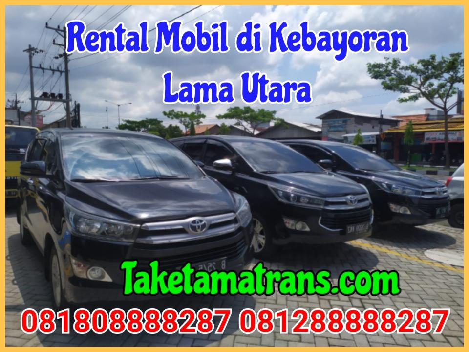 Rental Mobil di Kebayoran lama Utara