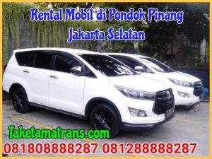 Rental Mobil di Pondok Pinang Jakarta Selatan