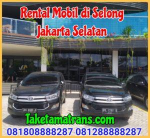 Rental Mobil di Selong Jakarta Selatan