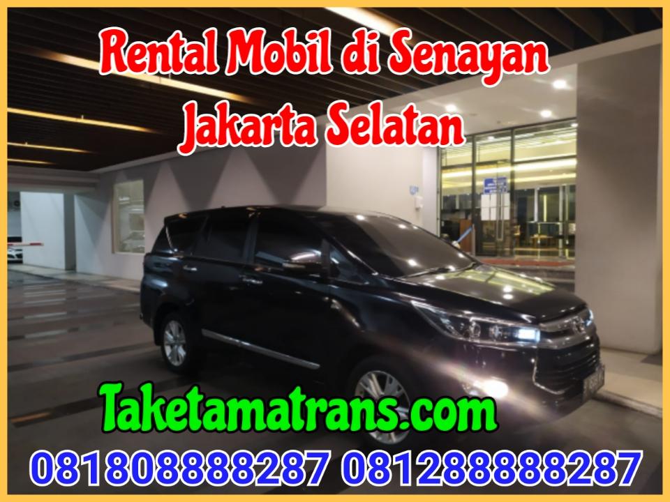Rental Mobil di Senayan Jakarta Selatan