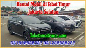 Rental Mobil di Tebet Timur