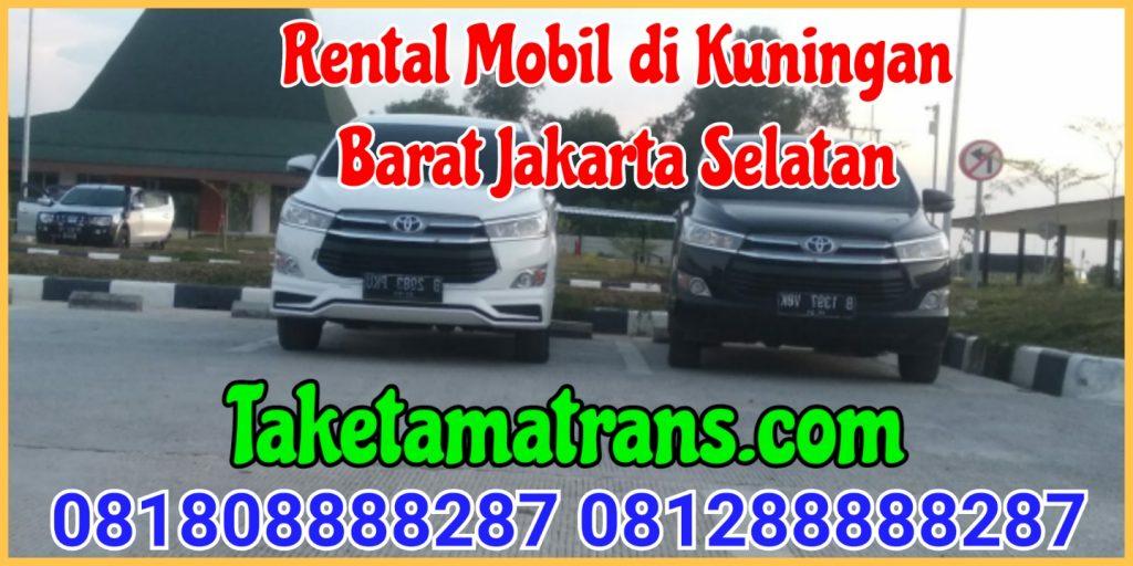 Rental Mobil di kuningan Barat Jakarta Selatan