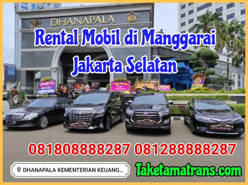 Rental Mobil di Manggarai
