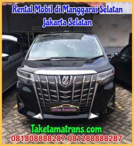 Rental Mobil di Manggarai Selatan