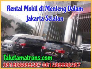 Rental Mobil di Menteng Dalam